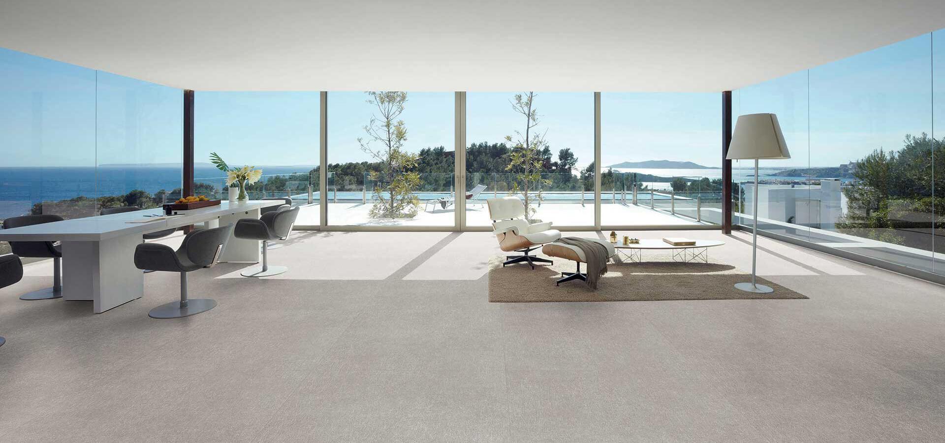 Cerbis Ceramics SA living room tiles